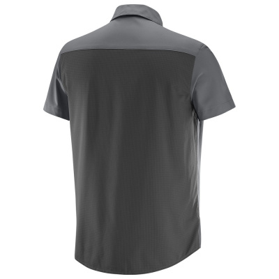 Рубашка SALOMON NOMAD STRETCH SS SHIRT M Forged фото 27023