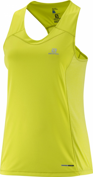 Майка SALOMON AGILE TANK W Yuzu YELLOW фото 20133