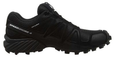 Кроссовки SALOMON SPEEDCROSS 4 WIDE Bk/Bk/BLACK фото 37753