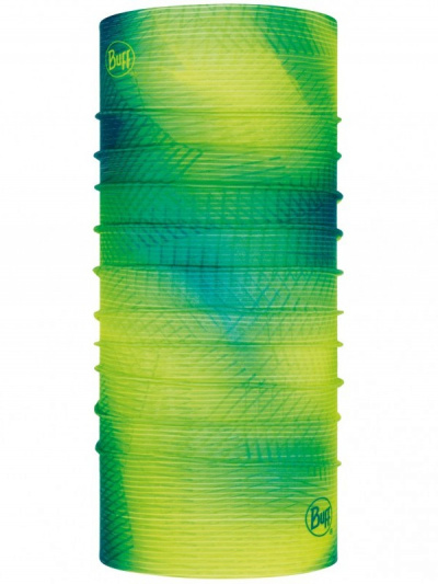 Бандана Buff Reflective R-Spiral Yellow Fluor, one size фото 41767