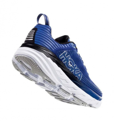 Кроссовки мужские Hoka M BONDI 6 GALAXY BLUE / ANTHRACITE фото 40758