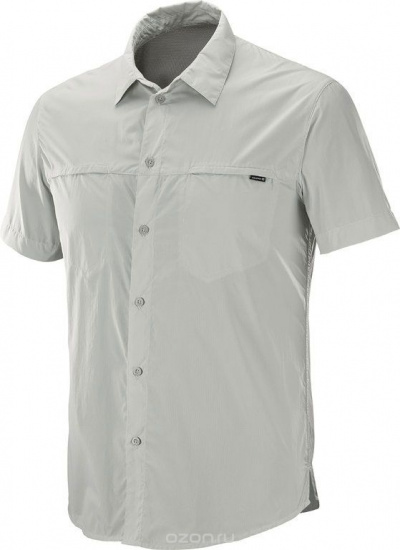 Рубашка SALOMON RADIANT  SS SHIRT M Mineral Gray фото 27028