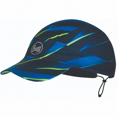 Кепка BUFF Pro Run Cap Patterned R-Focus Blue (US:one size) фото 37250