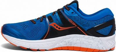 Кроссовки Saucony OMNI ISO Blue/Orange (2019) фото 35969