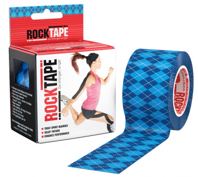 Кинезиотейп ROCKTAPE Design 5смх5м  фото 21175
