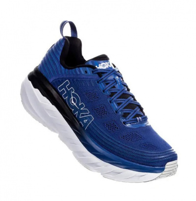 Кроссовки мужские Hoka M BONDI 6 GALAXY BLUE / ANTHRACITE фото 40757