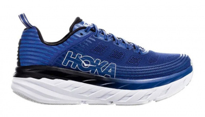 Кроссовки мужские Hoka M BONDI 6 GALAXY BLUE / ANTHRACITE фото 40756