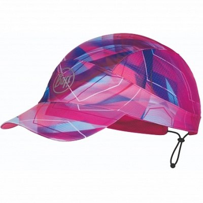 Кепка BUFF Pack Run Cap Patterned R-ShatteRed Multi (US:one size) фото 37268