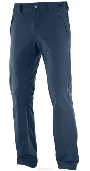 Брюки SALOMON WAYFARER PANT M Dress Blue фото 26985