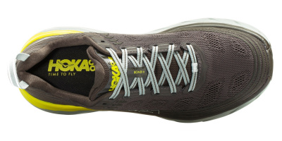 Кроссовки мужские Hoka M BONDI 6 BLACK OLIVE / PAVEMENT фото 38654