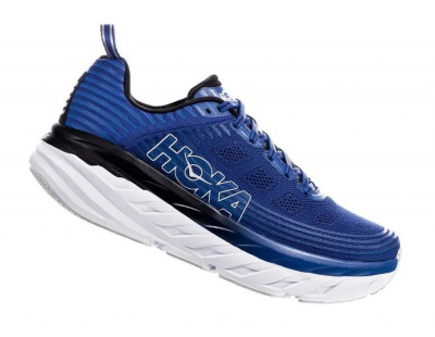 Кроссовки мужские Hoka M BONDI 6 GALAXY BLUE / ANTHRACITE фото 40762