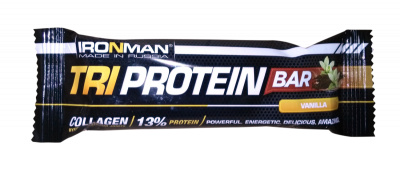 Батончик IRONMAN TRI Protein Bar 50гр. фото 27800