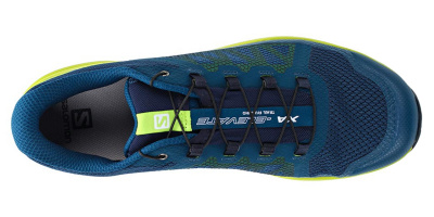 Кроссовки SALOMON XA ELEVATE Poseidon/Lime Green фото 30782