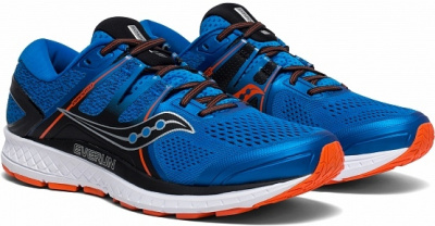 Кроссовки Saucony OMNI ISO Blue/Orange (2019) фото 35967