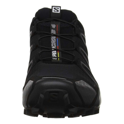 Кроссовки SALOMON SPEEDCROSS 4 WIDE Bk/Bk/BLACK фото 37754