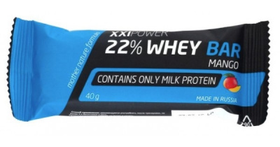 Батончик IRONMAN XXI Whey Bar 40гр. фото 27802
