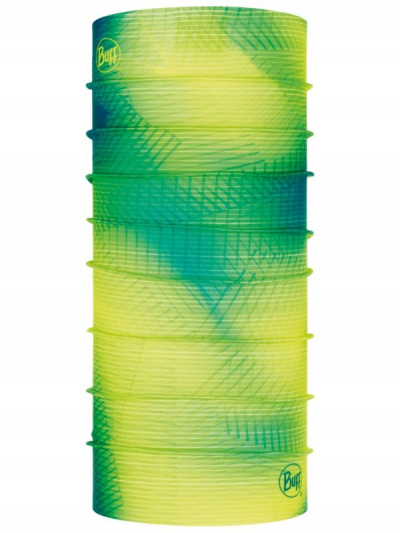 Бандана Buff Original Spiral Yellow Fluor, one size фото 41808