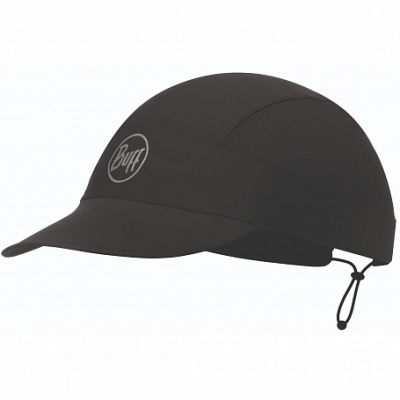 Кепка BUFF Pack Run Cap Solid R-Solid Black (US:one size) фото 37253
