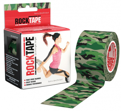 Кинезиотейп ROCKTAPE Design 5смх5м  фото 21178