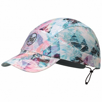 Кепка BUFF Pack Run Cap Patterned R-Irised Aqua (US:one size) фото 37278