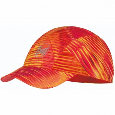 Кепка BUFF Pro Run Cap Patterned R-Zetta Coral Pink (US:one size) фото 37251