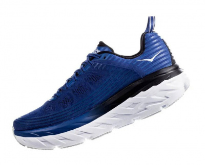 Кроссовки мужские Hoka M BONDI 6 GALAXY BLUE / ANTHRACITE фото 40759