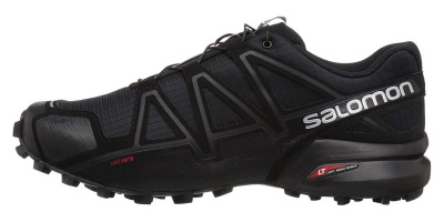 Кроссовки SALOMON SPEEDCROSS 4 WIDE Bk/Bk/BLACK фото 37752